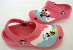 Crocs розовые Mickey.Цена 800 р!!!. Размер 9/10 (18см)