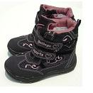 Зимние мембранные ботинки Sumatex серые с сердечками. Размер 19, 20, 21, 25. Цена 1600 р.